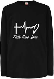com lepni me kids t shirt faith hope love