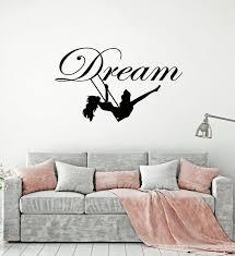 Vinyl Wall Decal Swing Little Girl Bedroom Sweet Dreams Stickers Mural Wallstickers4you