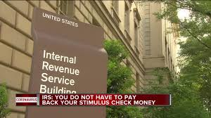 pay back your federal stimulus check money