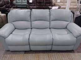 vercelli aqua leather power reclining