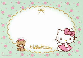 Free Hello Kitty Printable Label Papeles Cumpleanos De Hello
