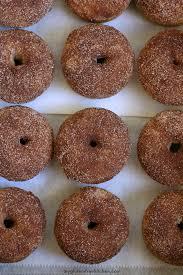 gluten free cinnamon sugar baked doughnuts