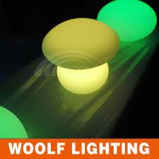 china solar power led mushroom lights