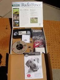 Petsafe Rf 3004 Radio Fence Pet Containment System Set Training Never Used New Ebay