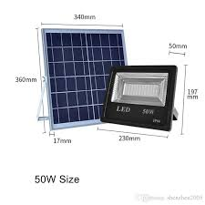 solar led flood lights 50w 100w rgb