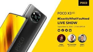 POCO X3 NFC #ExactlyWhatYouNeed LIVE SHOW - YouTube