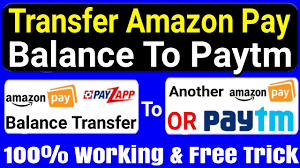 transfer amazon pay balance to another
