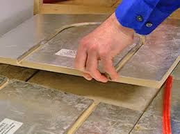 radiant heat system underneath flooring