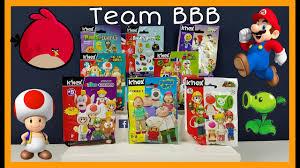 KNEX SPECIAL! World OF Nintendo Super MARIO Plants VS Zombies Family Guy Angry  Birds K'NEX Blindbags