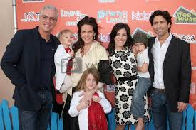 Christopher Duddy and Joely Fisher with Tricia Leigh Fisher and ...
