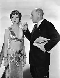 "Amazon.com: Eddy's Entertainment Claudette Colbert & Cecil B. DeMille  1932""Sign of The Cross 8x10 Silver Halide Archival Quality Reproduction  Photo Print: Posters & Prints"