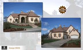 country french house plans one story