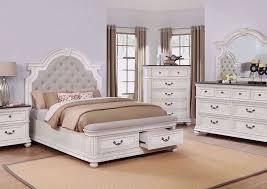 keystone queen size bedroom set white