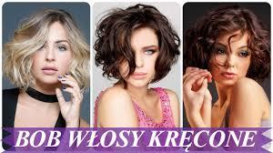 Top 20 Najmodniejsze Fryzura Bob Krecone Wlosy 2018 Youtube