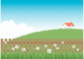Free Wooden Picket Fence With Grass Download Free Vectors Clipart Graphics Vector Art