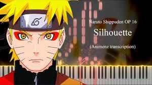 Silhouette - Naruto Shippuden OP 16 [Piano tutorial + Sheet] (Animenz  transcription) - YouTube