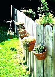 Wall Hanging Flower Pots Garden Fence Balcony Basket Plant Pot Planter Art Decor