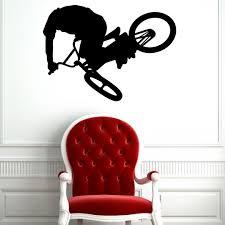 Shop Bmx Bike Vinyl Wall Art Overstock 9992739