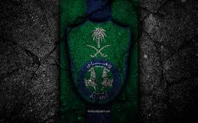تحميل خلفيات الأهلي نادي 4k شعار دوري المحترفين السعودي لكرة