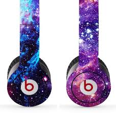 Galaxy Skin Decal Sticker For Dr Dre Beats Solo Galaxy Galaxy Outfit Beats
