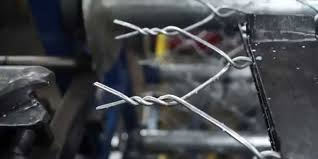 Watch This Machine Weave A Chain Link Fence