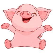 82+ Clipart Happy Pigg... Piggy Clipart | ClipartLook