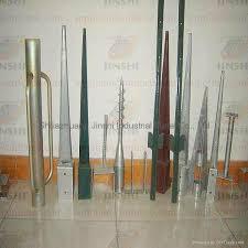 Galvanized Metal Post Anchor Screw Ground Spike China Manufacturer