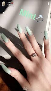 Pin by Priscilla Watson on Nails | Nails now, Cute acrylic nails, Green  nails