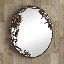 octopus oval wall mirror 51009 spi