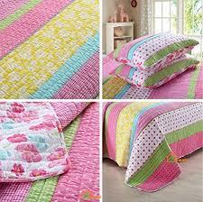 hnnsi 3 piece kids girls comforter