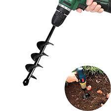 garden plant flower bulb auger rapid