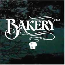 Bakery Treats Decals Stickers Decal Junky