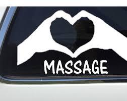 Massage Decal Etsy