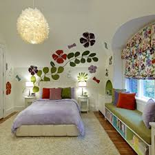 Girl Room Flower Stencil Ideas Houzz