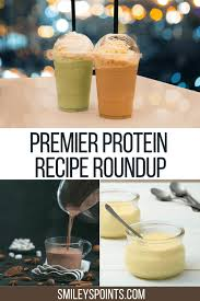 premier protein recipes smiley s points