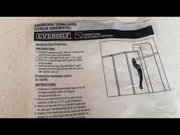 Home Depot Everbilt Ornamental Gate Latch Youtube
