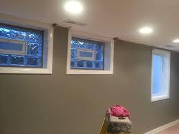 installation of 2 glass block windows