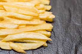 French fries on black background | ✅ Marco Verch is a Profes ...