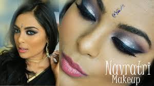 navratri makeup indian arabic eyes