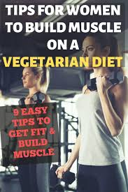 muscle building on vegetarian t
