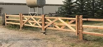 Split Rail Fence Cedar Rails Malad City Id