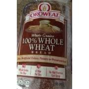 oroweat whole wheat bread calories