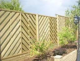 Fence Line In A Windy Area Try Less Resistance Fence Panels Such As Jacksons Hit And Miss These Panels Al Fence Gate Design Fence Design Garden Fence Panels
