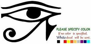 Eye Of Horus Egypt Funny Vinyl Decal Sticker Car Window Laptop Truck Tablet 7 Ebay