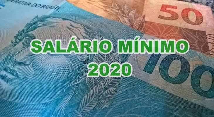 """Resultado de imagem para Salário mínimo será de R$ 1.039 em 2020"""""""