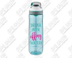 Drink Your Effing Water Fitness Quote Custom Diy Motivational Water Bottle Vinyl Decal Cutting File Set In Svg Eps Dxf Jpeg And Png Format