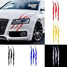 Auto Car Sticker Reflective Claw Scratch Stripe Marks Headlight Decal Car Stickers Car Accessories Car Stickers Aliexpress
