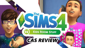 The Sims 4 Kids Room Stuff Pack Cas Review Youtube