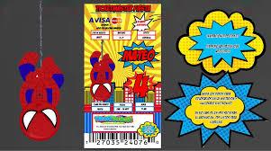 Kit Cumpleanos Imprimible Invitacion Hombre Arana 300 00 En