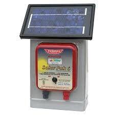 Parmak 6 Volt Solar And Battery Powered Fencer Home Hardware